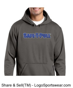 Sport-Tek - Sport-Wick Fleece Hooded Pullover Design Zoom